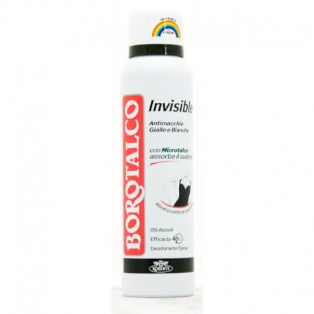 BOROTALCO DEO SPRAY INVISIBLE ML.150