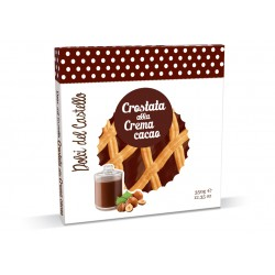 DOLCI DEL CASTELLO TART WITH COCOA CREAM GR.350
