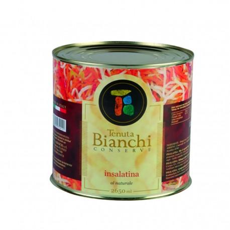 BIANCHI Insalatina In Aceto Confeizone In Latta Da 2,65 Chilogammi