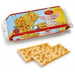 CRICH Crackers Salati in Superficie in Confezione da 250 grammi