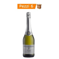 Multipack 6 Bottiglie Di Spumante Asti DOCG Fontanafredda cl 75