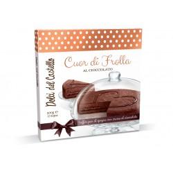 DOLCI DEL CASTELLO TORTA CUOR DI FROLLA CIOCCOLATO GR.500
