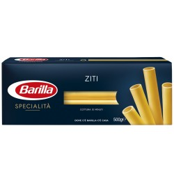 BARILLA Le Specialita' Ziti Napoletani Cottura 10 Minuti 500 Grammi