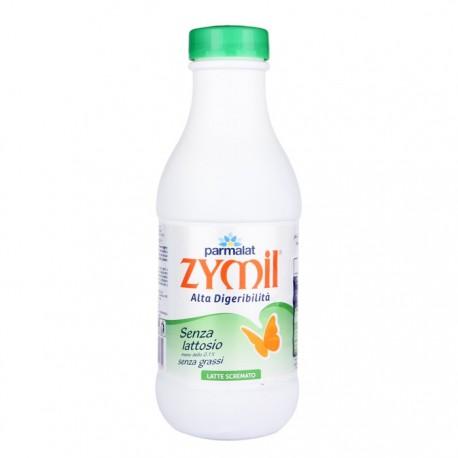Parmalat Latte Zymil scremato UHT ad Alta Digeribilita' 0% di Grassi 6 Bottiglie da Litri 1