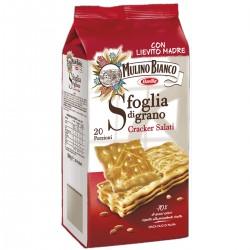 MULINO BIANCO SFOGLIA DI GRANO CRACKERS SALATI GR.500