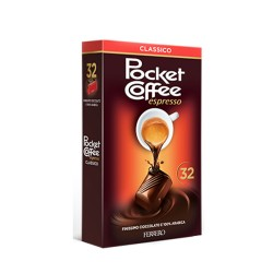 Ferrero Pocket Coffee Espresso Classico Confezione da 32 Pezzi 400 Grammi