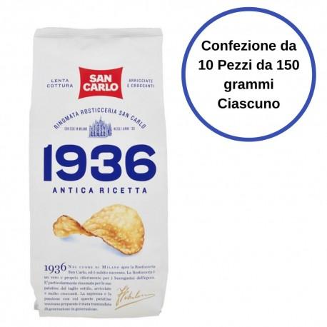 1936 SAN CARLO Antica Ricetta Confezione 10 Buste Da 150 Grammi