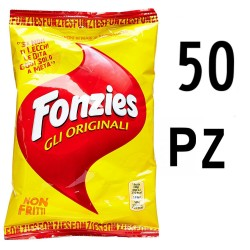 Fonzies The Original 50 Bags of 40 Grams Each Snacks