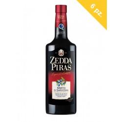 Zedda Piras Mirto Rosso di Sardegna pack of 6 bottles cl.70