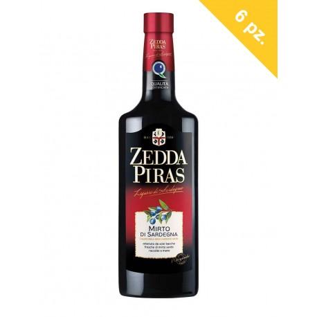 Zedda Piras Mirto Rosso di Sardegna confezione da 6 bottiglie da cl.70