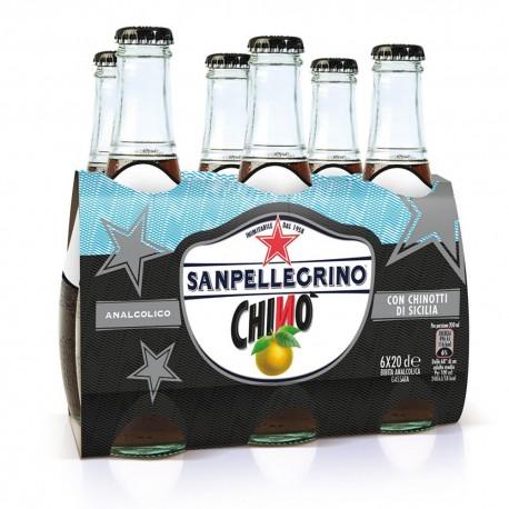 Sanpellegrino Chinò Confezione da 24 Bottiglie da 200 Milliliter Ciascuna