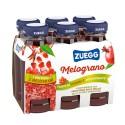 Succo Zuegg al Melograno Confezione da 6 Bottiglie di Vetro da 125 Milliliters