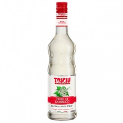 Toschi Sambuco Flower Cocktail Syrup 1.3 Chilogram Packaging