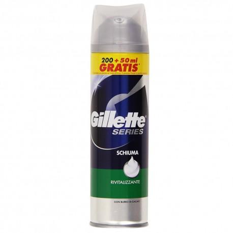Gillet Series Shaving Foam Revitalizing Pack of 250 milliliters