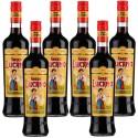 Multipack 6 Pz Amaro Lucano Tradizione Italiana Amari Liquore a Base Di Erbe