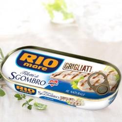 Rio Mare Filetti di Sgombro Grigliati al Naturale Grammi 120