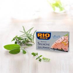 Rio Mare Filetti di Salmone Affumicato con Grani di Pepe Grammi 125