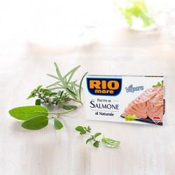 Rio Mare Filetti di Salmone al Naturale Grammi 125