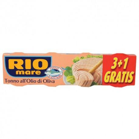 Rio Mare Tonno in Olio d'Oliva Grammi 120X3+1