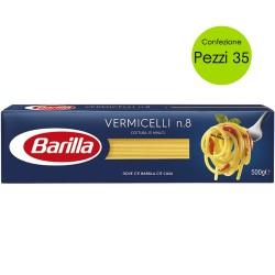Multipack 35 Pezzi Barilla Vermicelli n 8 Pasta Italiana da 500 Grammi Cadauno