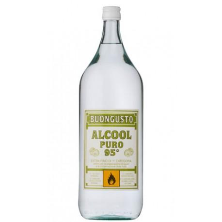 DILMOOR ALCOOL PURO 95 GRADI CONFEZIONE DA 2 LITRI