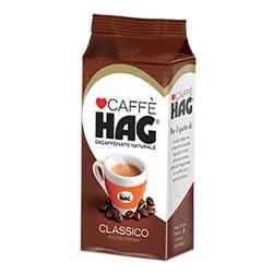 Hag Caffe' Classico In Confezione Da 250 Gr Caffe' Decaffeinato Moka Intenso Aroma Classico