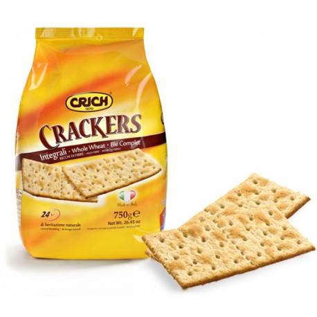 CRICH Crackers Integrali in Sacchetto da 750 grammi