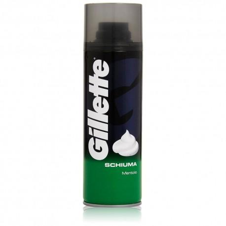 Schiuma da Barba al Mentolo Gillette Confezione da 300 Millilitri
