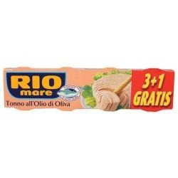 Rio Mare Tonno in Olio d'Oliva Grammi 80x4