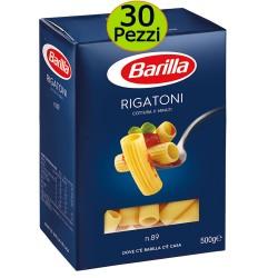 Pasta Barilla Rigatoni N 89 Multipack 30 Pezzi da 500 Grammi cadauno