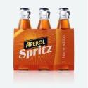 Aperol Spritz Aperitivo poco Alcolico in Confezione da 24 Bottiglie di Vetro da 175 Millilitri