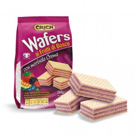 CRICH Wafers Taste Berries Pack In Bag 250 Grams