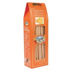 Tarall'oro Tagliolina all'arancia pasta trafilata al bronzo in confezione da 250 gr