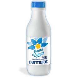 PARMALAT UHT GOODNESS AND LINE PARTLY SKIMMED MILK BOTTLES 6 LT. 0.50