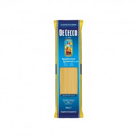 Spaghettoni Quadrati N 413 De Cecco Confezione da 500 Grammi