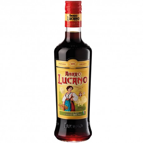 Amaro Lucano from 0.70 cl Italian Tradition Amari liqueur Herbal In Glass Bottle