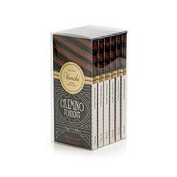 Kit Tavolette Astucciate Cremino Extra Fondente 660g - Morbido Cioccolato Fondente a 3 Strati - Set di 6 - Senza Glutine