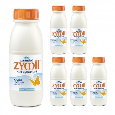 Parmalat Latte UHT Zymil 1% DI GRASSI 6 bottiglie da lt. 0.50