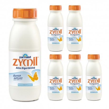 PARMALAT ZYMIL UHT MILK 1% FAT 6 BOTTLES LT. 0:50