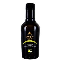 Poggio Reale Condimento Olio Extravergine di Oliva Limone Litri 0,250