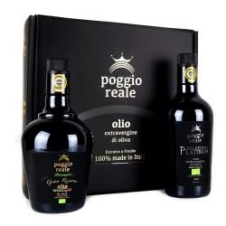 Poggio Reale Olio Extravergine di Oliva Platinum e Gran Riserva da Litri 0,500