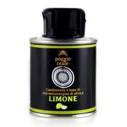 Poggio Reale Condimento Olio Extravergine di Oliva Limone Litri 0,100