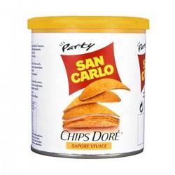 Chips Dore' una cialda dorata ondulata e croccante sapore vivace SAN CARLO gr 100 pz 14