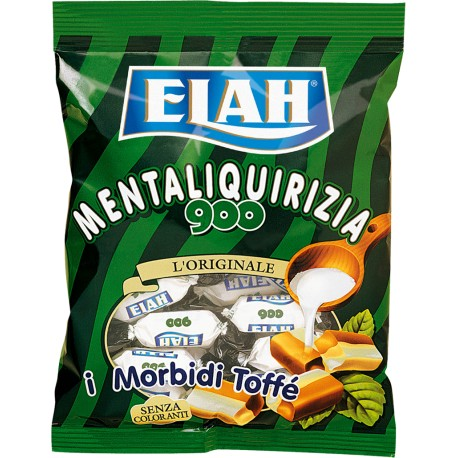ELAH TOFFEE CANDIES gr.180 PEPPER MINT AND LIQUORICE