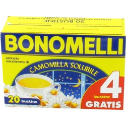 BONOMELLI CAMOMILLA SOLUBILE x 16+4 GR.100