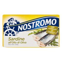 Nostromo Sardine in Olio d'Oliva Grammi 120