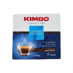 Kimbo Aroma Italiano Caffe' Macinato Per Moka Confezione Da 2x250 Grammi