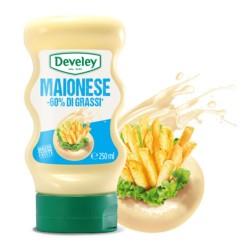 Develey Maionese Light -60% Di Grassi In Comoda Confezione Squeeze Da 250 ml