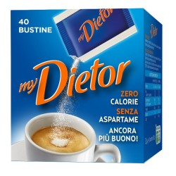 MyDietor Dolcificante Zero Calorie Confezione da 40 Bustine