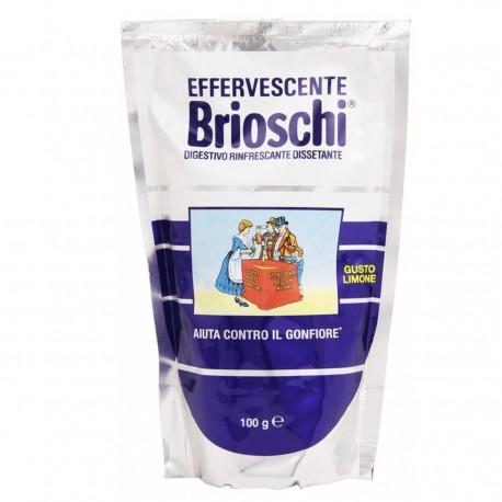 BRIOSCHI Effervescente Digestivo Rinfrescante Dissetante 100 Grammi In Bustina